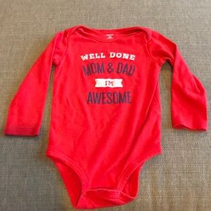 Carter's 'I'm awesome' Onesie, 24 months